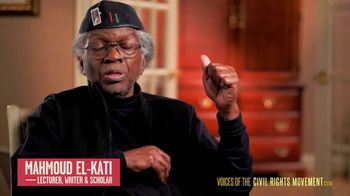 Voices of the Civil Rights Movement TV Spot, 'Lived Up' Featuring Mahmoud El-Kati - 10 commercial airings