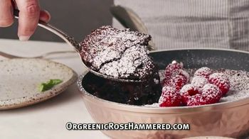 OrGreenic Rose Hammered TV Spot, 'Any Meal'