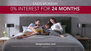 Ultimate Sleep Number Event TV Spot, 'Weekend Special: Save up to $800 and 24 Months Interest' - Thumbnail 9