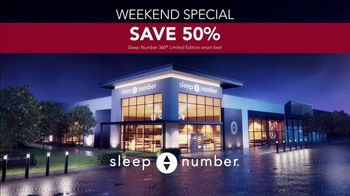 Ultimate Sleep Number Event TV Spot, 'Snoring: Weekend Special: 50%' - Thumbnail 7