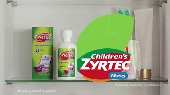 Zyrtec TV Spot, 'Awkward Positions: Children's Zyrtec' - Thumbnail 10