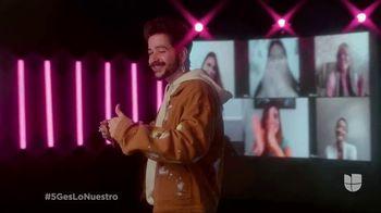 T-Mobile 5G TV Spot, 'Premio Lo Nuestro: mi tribu' con Camilo [Spanish] - Thumbnail 9