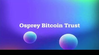 Osprey Bitcoin Trust TV Spot, 'Hi Bitcoin: Low Fees'