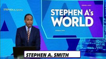 ESPN+ TV Spot, 'Stephen A's World' - 673 commercial airings