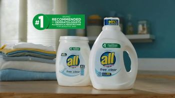 All Laundry Free Clear TV Spot, 'Allergens' - Thumbnail 8