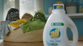 All Laundry Free Clear TV Spot, 'Allergens' - Thumbnail 4