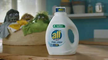 All Laundry Free Clear TV Spot, 'Allergens' - Thumbnail 5