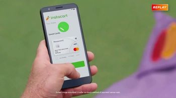 Mastercard TV Spot, 'Always Prepared: Instacart' Featuring Ian Poulter