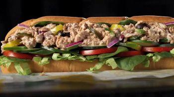 Subway Tuna TV Spot, 'Buy One Footlong, Get One 50% Off' - Thumbnail 2