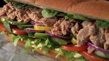 Subway Tuna TV Spot, 'Buy One Footlong, Get One 50% Off' - Thumbnail 3