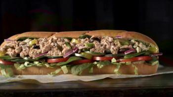 Subway Tuna TV Spot, 'Buy One Footlong, Get One 50% Off' - Thumbnail 5