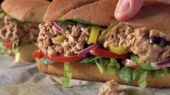 Subway Tuna TV Spot, 'Buy One Footlong, Get One 50% Off' - Thumbnail 7
