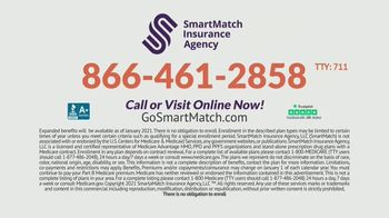 SmartMatch Insurance Agency TV Spot, '2021 Medicare Benefits Update' - Thumbnail 10