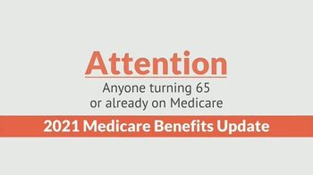 SmartMatch Insurance Agency TV Spot, '2021 Medicare Benefits Update' - Thumbnail 2