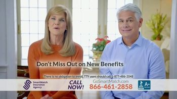 SmartMatch Insurance Agency TV Spot, '2021 Medicare Benefits Update' - Thumbnail 9