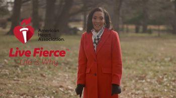 American Heart Association TV Spot, 'Dawn Roberts: Live Fierce' - Thumbnail 4