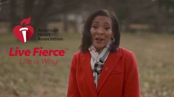 American Heart Association TV Spot, 'Dawn Roberts: Live Fierce' - Thumbnail 8