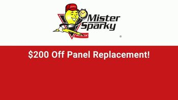 Mister Sparky TV Spot, 'Relieved of Duty: $200 Off Panel Replacement' - Thumbnail 9