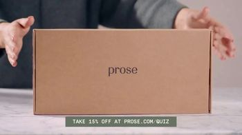 Prose TV Spot, 'Hyper-Custom Haircare' - Thumbnail 6