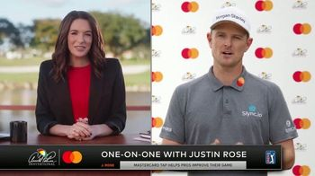 Mastercard TV Spot, 'One-on-One With Justin Rose'