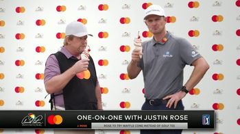 Mastercard TV Spot, 'One-on-One With Justin Rose' - Thumbnail 6