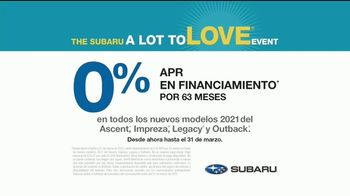 Subaru A Lot to Love Event TV Spot, 'Momento de silencio' [Spanish] [T2] - Thumbnail 5