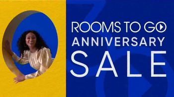 Rooms to Go 30th Anniversary Sale TV Spot, 'Reclining Leather Living Room' Song by Junior Senior - Thumbnail 3