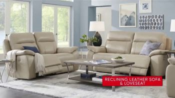 Rooms to Go 30th Anniversary Sale TV Spot, 'Reclining Leather Living Room' Song by Junior Senior - Thumbnail 6