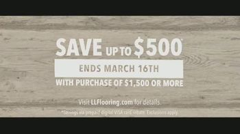LL Flooring TV Spot, 'Bellawood Distressed Oak Floors: Save Up to $500' Song by Electric Banana - Thumbnail 10