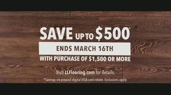 LL Flooring TV Spot, 'Bellawood Distressed Oak Floors: Save Up to $500' Song by Electric Banana - Thumbnail 9