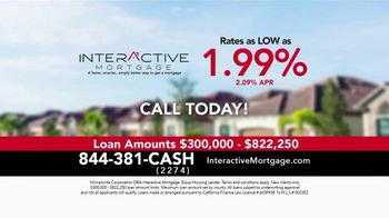 Interactive Mortgage TV Spot, 'Near All Time Lows: Rates As Low As 1.99%'
