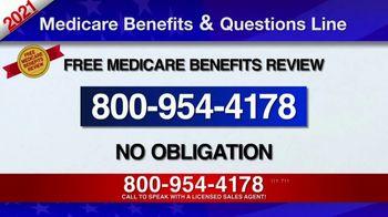 Medicare Benefits & Questions Line TV Spot, '2021 Medicare Benefits Review' - Thumbnail 3