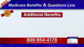 Medicare Benefits & Questions Line TV Spot, '2021 Medicare Benefits Review' - Thumbnail 4