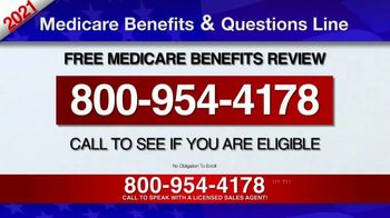 Medicare Benefits & Questions Line TV Spot, '2021 Medicare Benefits Review' - Thumbnail 5