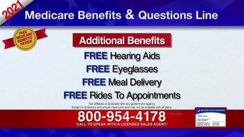 Medicare Benefits & Questions Line TV Spot, '2021 Medicare Benefits Review' - Thumbnail 6