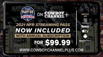 Cowboy Channel Plus TV Spot, '2021 NFR Streaming Pass' - Thumbnail 2