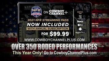 Cowboy Channel Plus TV Spot, '2021 NFR Streaming Pass'