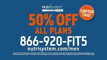 Nutrisystem for Men TV Spot, 'Lost Your Motivation: 50% Off' - Thumbnail 9