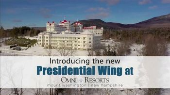 Omni Hotels & Resorts Bretton Woods TV Spot, 'Introducing the Presidential Wing'