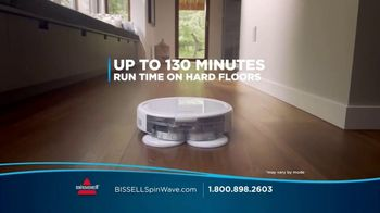 Bissell SpinWave 2-in-1 Robotic Vacuum TV Spot, 'Triple Action Cleaning'