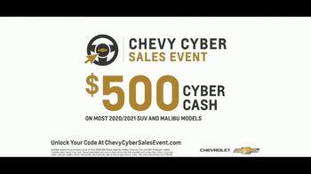 Chevrolet Cyber Sales Event TV Spot, 'Just Better' [T2] - Thumbnail 5