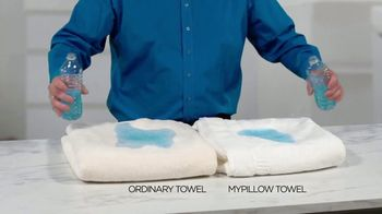My Pillow Mike's Christmas Special TV Spot, 'Absorption Test' - Thumbnail 3