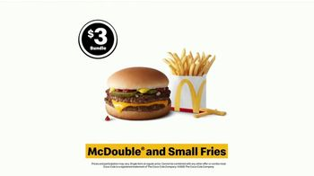 McDonald's $3 Bundle TV Spot, ''The YESSSSSS! Meal: McDouble With Small Fries' - Thumbnail 8