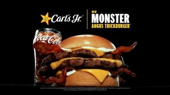 Carl's Jr. Monster Angus Thickburger TV Spot, 'Mind Control' - Thumbnail 10