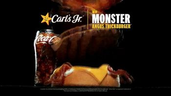 Carl's Jr. Monster Angus Thickburger TV Spot, 'Mind Control' - Thumbnail 9