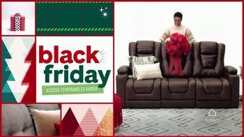 Ashley HomeStore Black Friday TV Spot, 'Cama de panel Queen' [Spanish] - Thumbnail 1