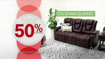 Ashley HomeStore Black Friday TV Spot, 'Sofá y divan' [Spanish] - Thumbnail 3