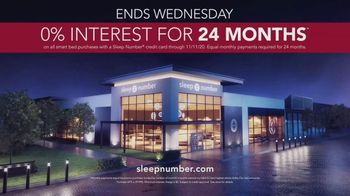 Sleep Number Veterans Day Sale TV Spot, 'Weekend Special: Save Up to $700: Ends Soon' - Thumbnail 10