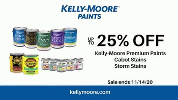 Kelly-Moore Paints TV Spot, 'The Essential Color Set: 25% Off Paints, Cabot Stains & Storm Stains' - Thumbnail 10