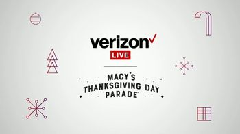 Verizon Live TV Spot, 'Macy's Thanksgiving Day Parade: Virtual Spotlight' - Thumbnail 2